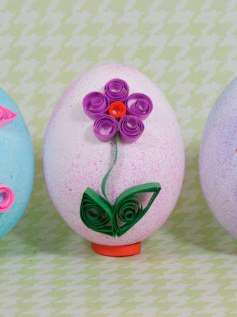 Quilling Eggs