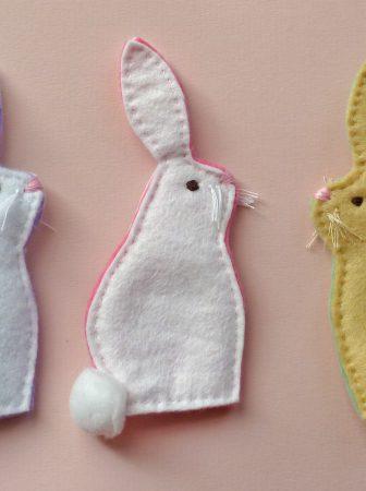 Coniglietti in Feltro