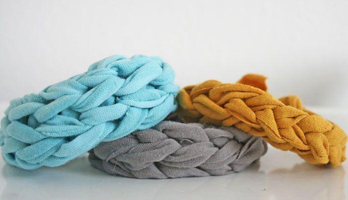Bracciale Finger Knitting