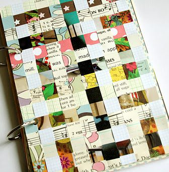 Paper Journal Cover