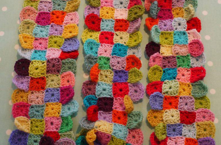 Sciarpa Crochet