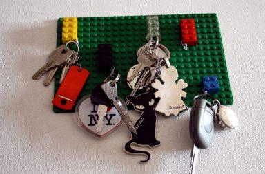 Portachiavi Lego da Parete