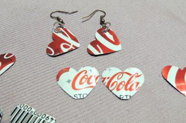 Orecchini Coca-Cola Cuore