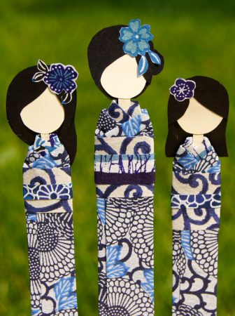 Paper Doll Bookmark