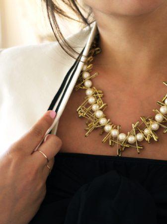 Collana Perle e Spille