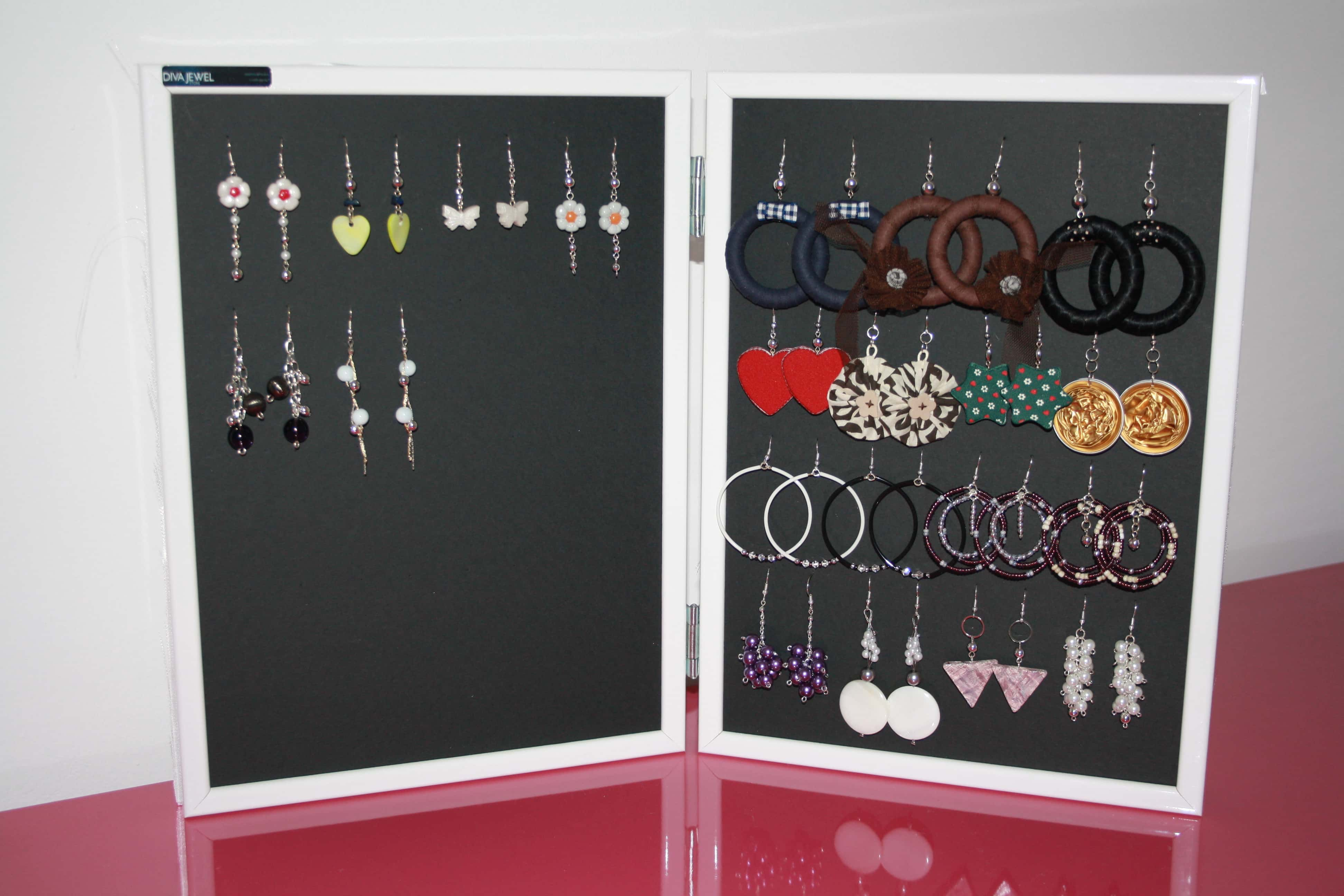 Tutorial espositore bijoux passion diy - Portagioielli fai da te ...