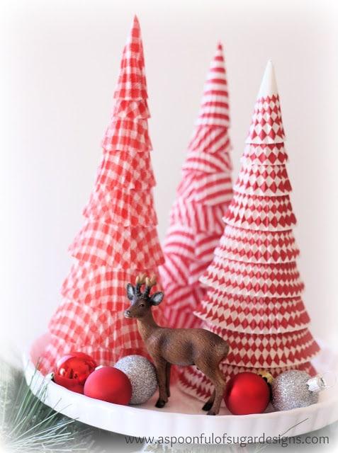 Albero Di Natale Alluncinetto Semplicissimo.Albero Di Natale Con I Pirottini Passion Diy