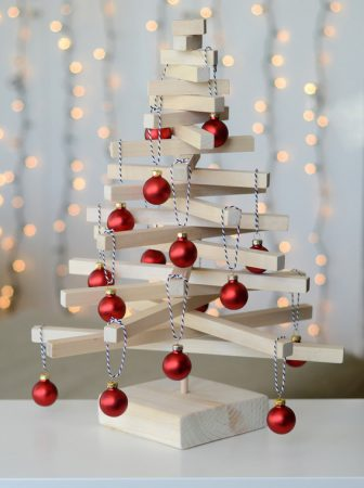 Albero natalizio dal design moderno