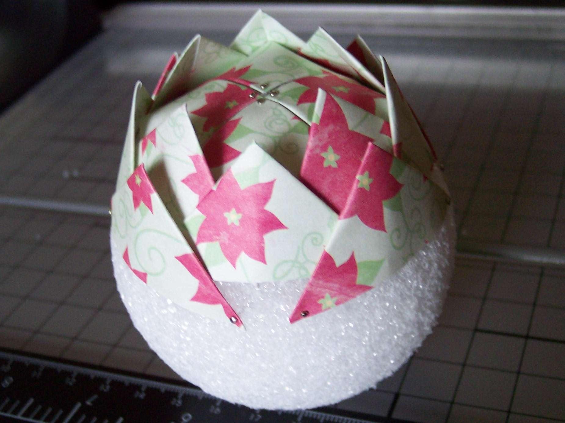 Decorazioni natalizie carta