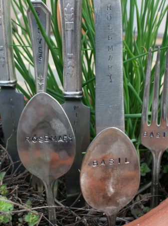 Vintage Plant Markers