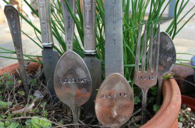 Vintage Plant Markers