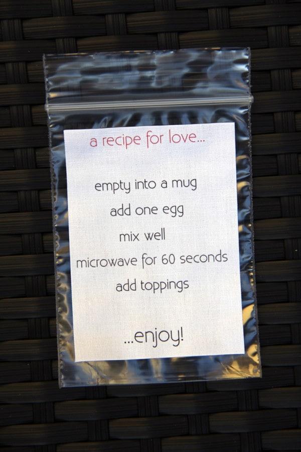 ricetta san valentino