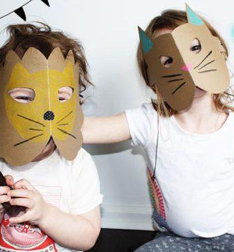 Maschere per costume di carnevale