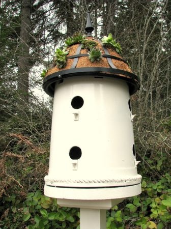 Plant Pot Bird House