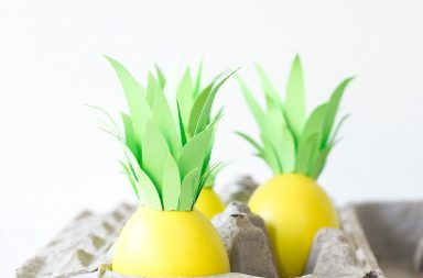 DIY Pineapple Eggs