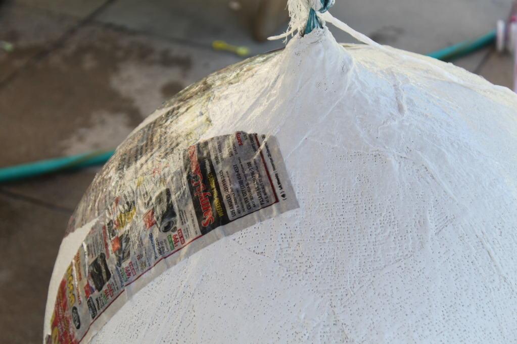 Lampadario Di Cartapesta : Decomondo rinnovare un lampadario vintage a gocce