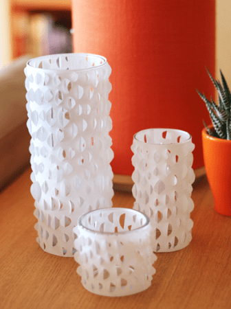 Paper Candle Holder