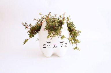 Kitty Vase
