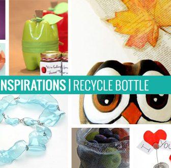 10 Ispirazioni – Riciclo Bottiglie