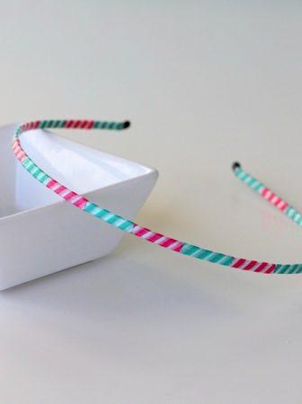 Washi Tape Headband