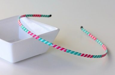 Washi Tape Headband