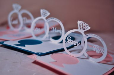 Wedding Invitation Pop Up Card