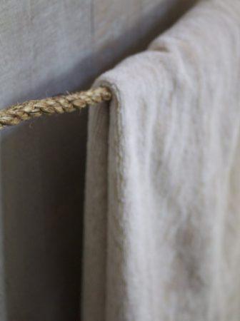 Porta Asciugamani in Corda Nautica