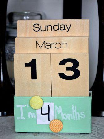 Calendario Conta Mesi
