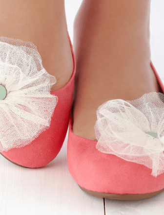 Pom Pom Clip Shoes