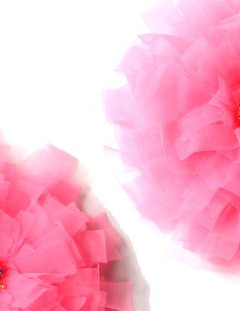 Fabric Dahlia Flower