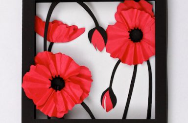 3D Poppy Picture