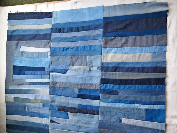 Denim Patchwork Quilt Passion Diy