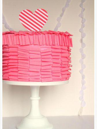 Ruffle Cake Box
