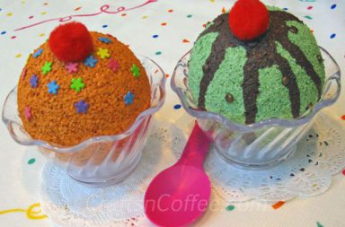 Coppe Gelato Decorate