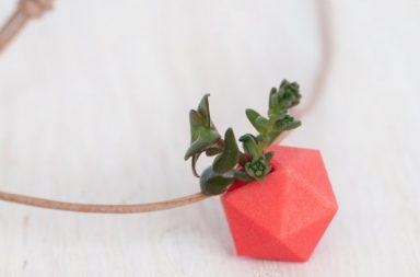 Collana Ecologica Wearable Planter