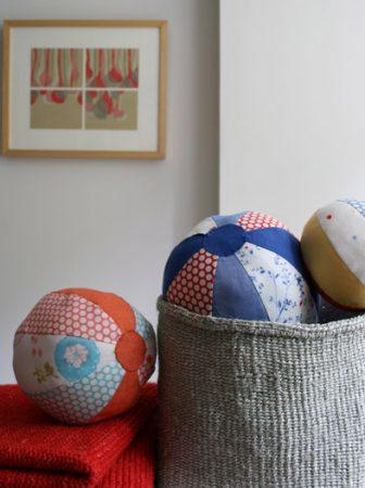 Pallone di stoffa colorato
