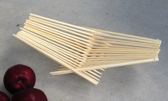 Cesto portafrutta di legno passion diy - Portafrutta in legno ...