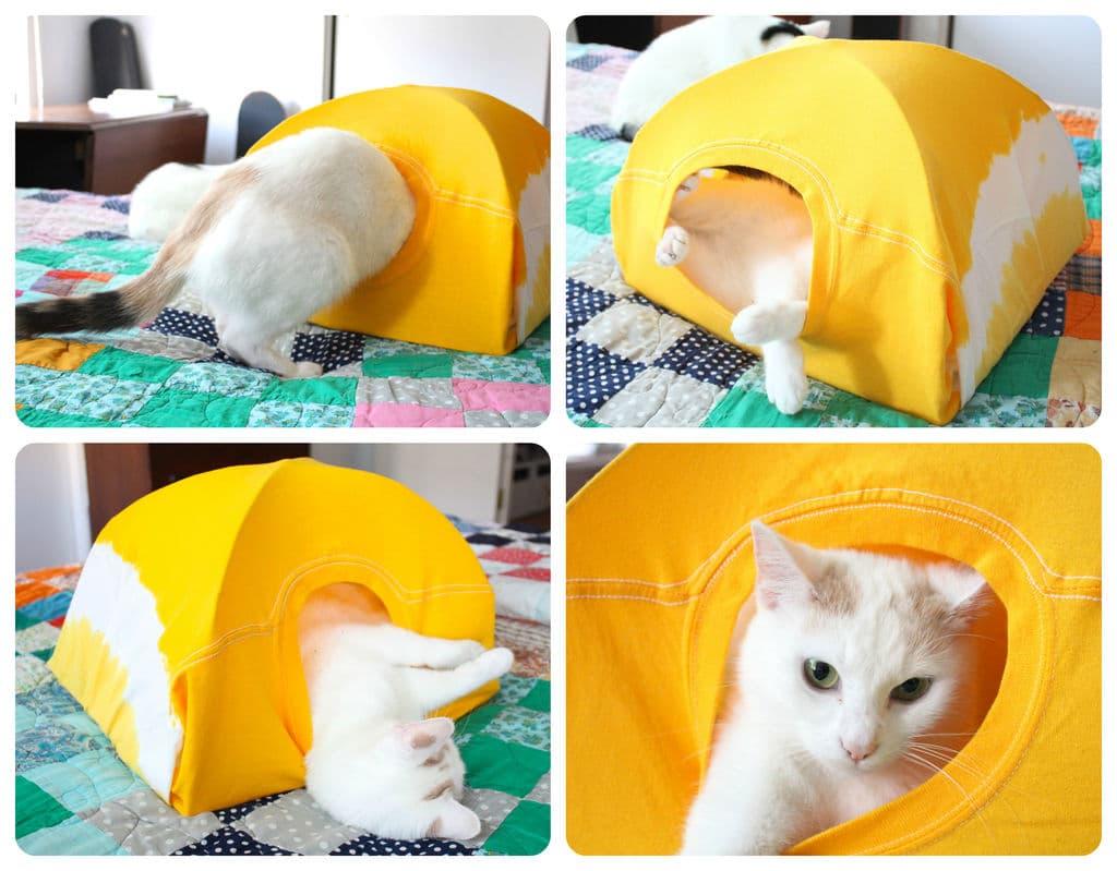 Cuccia Gatto Fai Da Te cuccia gatto fai da te - passion diy