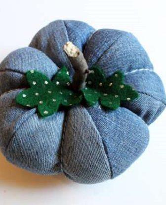 Zucca Decorativa Jeans