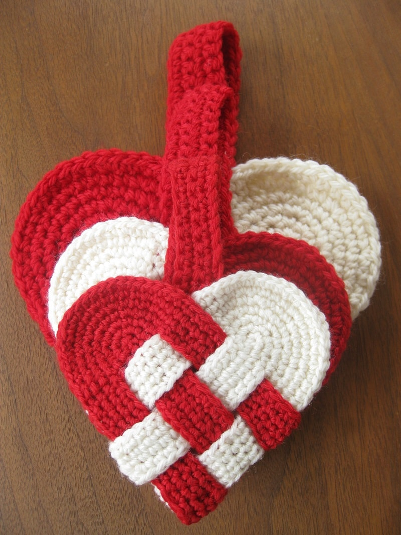 Presine Cuore Uncinetto Passion Diy