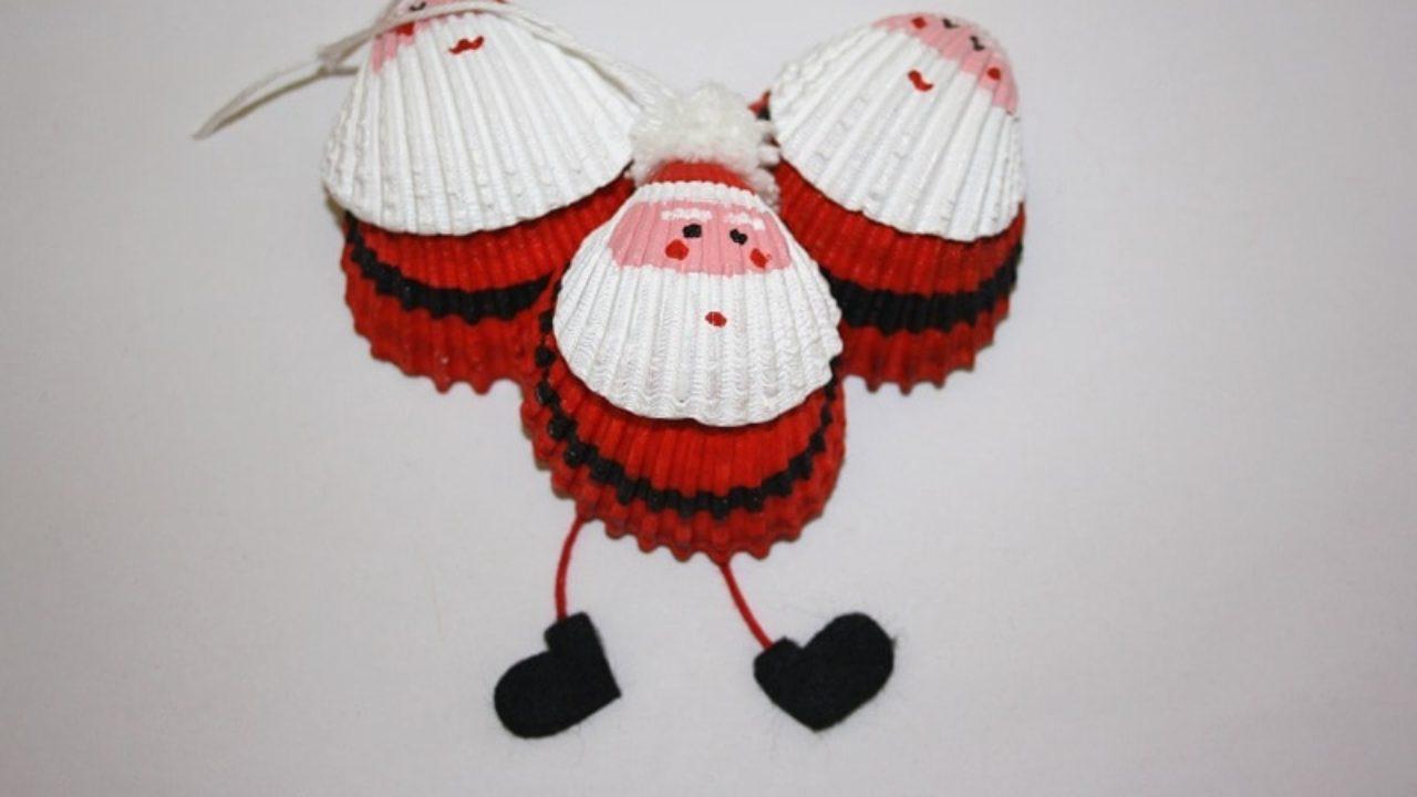 Lavoretti Di Natale Con Uncinetto.Tutorial Babbo Natale Con Le Conchiglie Pagina 11 Di 12 Passion Diy