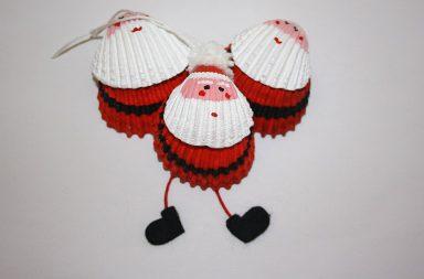 Tutorial Babbo Natale con le conchiglie