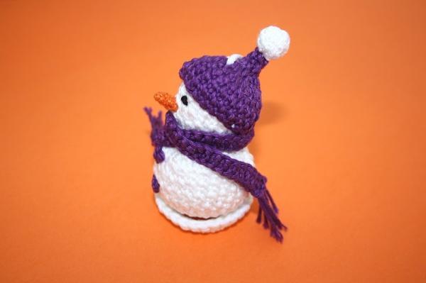 75) Pupazzo di Neve Uncinetto Amigurumi Tutorial Snowman Crochet ...   399x600