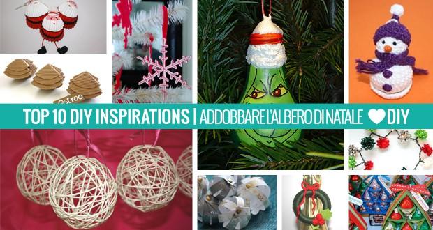 10 Ispirazioni – Addobbare l'Albero di Natale
