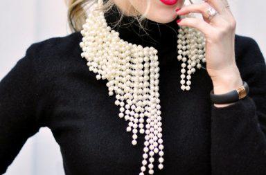 Collana di perle Fai da te