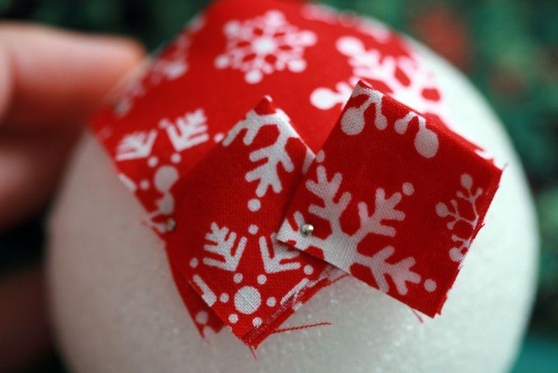 Favorito Addobbi di Natale con palline di polistirolo - Passion DIY AT23