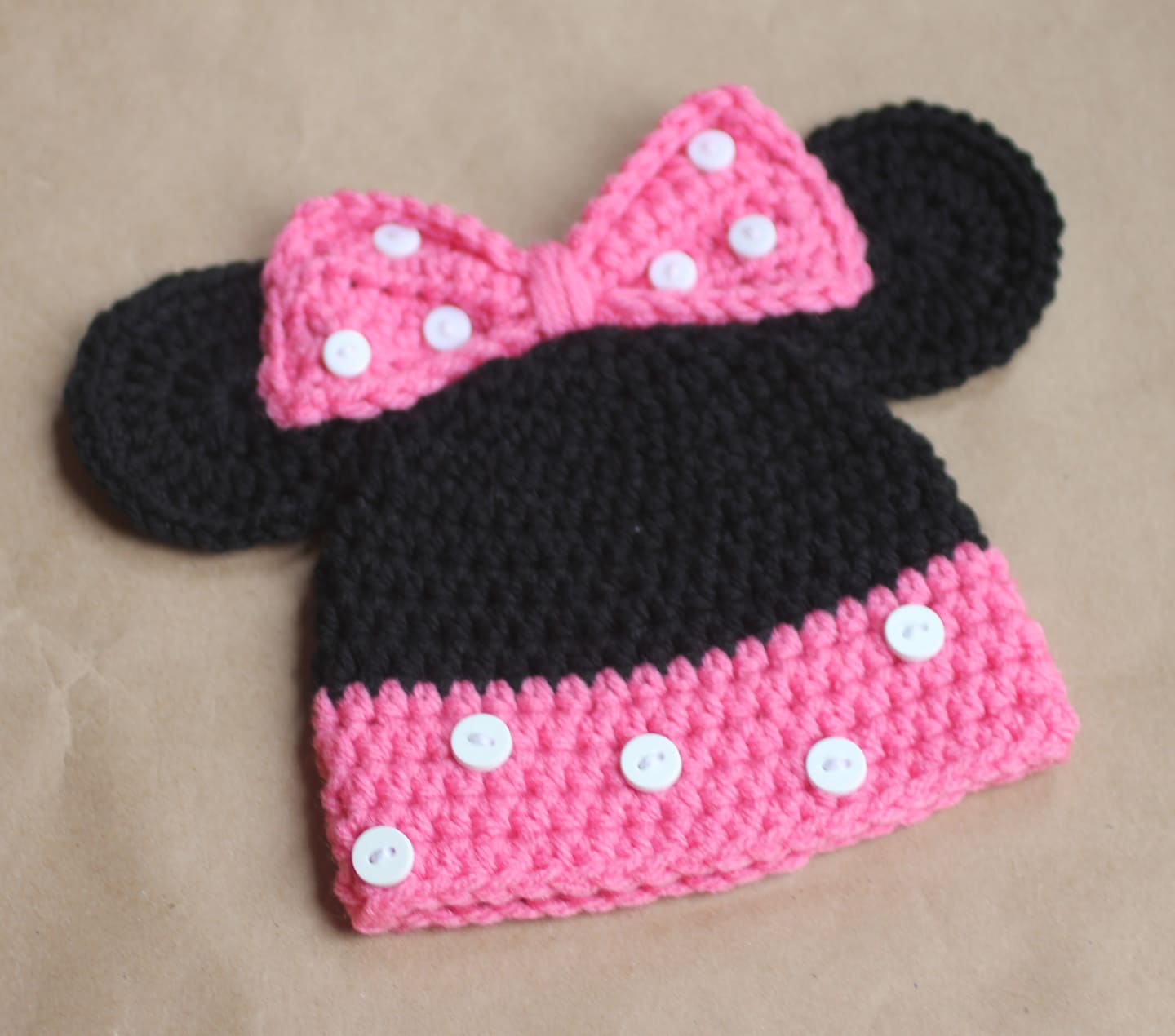 Cappello Bimba Minnie Passion Diy