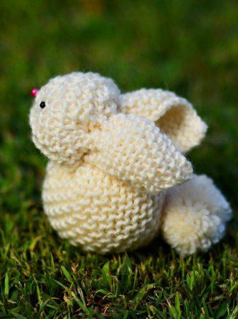 Coniglietto di lana: una tecnica unica!