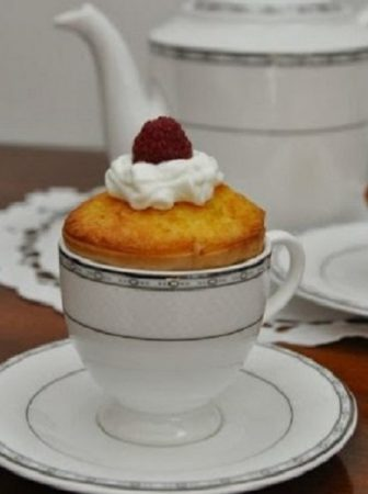 Cupcake cioccolato bianco e lamponi