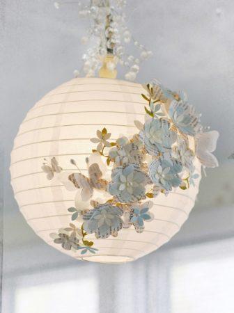 Lanterna di carta decorata